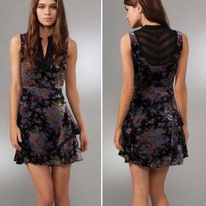 Free People Falling Leaves Burnout Dress - 2